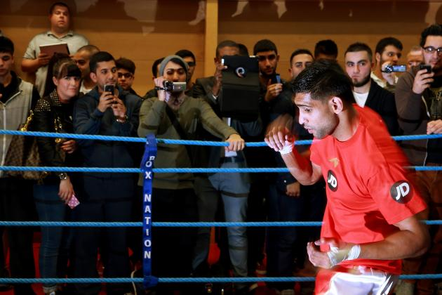 Amir Khan vs. Julio Diaz: Fight Time, Date, Live Stream, Replay, TV Info, More