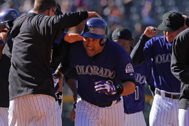 Rockies Rally to Beat Atlanta in 12th Innings