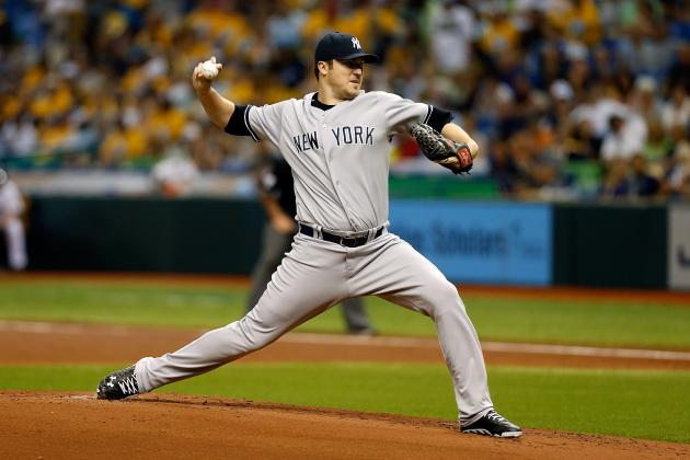 How Much Room for Error Do the New York Yankees' Phil Hughes and Ivan Nova Have?