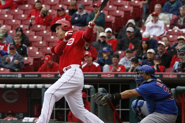 Reds Beat Cubs 1-0 on Frazier Home Run