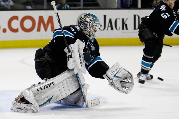 San Jose Sharks Giving Goalie Antti Niemi a Rest