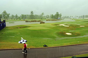 Severe Weather Disrupts Zurich Classic Events
