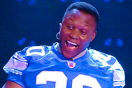 Barry Sanders Voted Cover Athlete for Madden NFL 25 Video Game