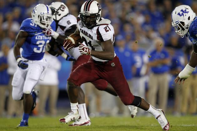 Marcus Lattimore Won't Make It Past Day 2 of 2013 NFL Draft