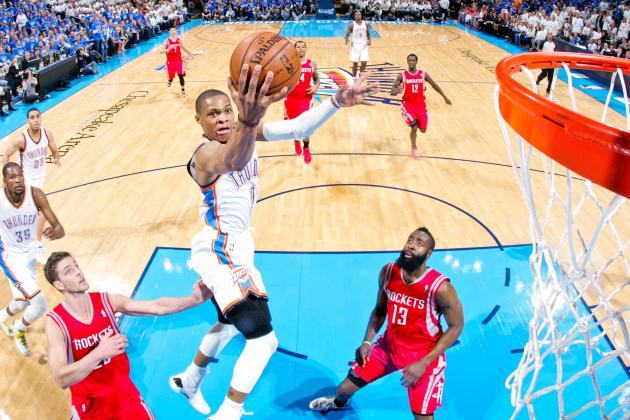 Rockets vs Thunder Game 2: Live Score, Highlights and Analysis
