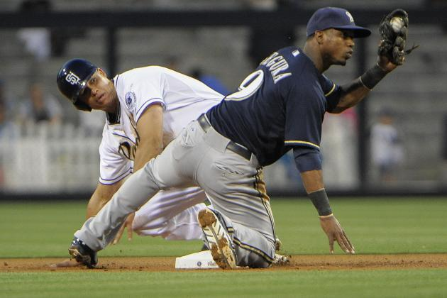 ESPN Gamecast -- Brewers vs Padres