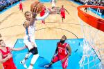 Thunder Withstand Rockets Comeback, Take 2-0 Series Lead