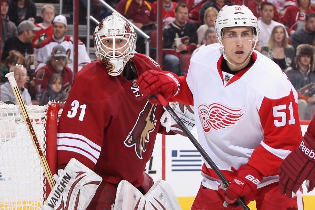 Coyotes Eliminated from Playoff Contention with Red Wings Win