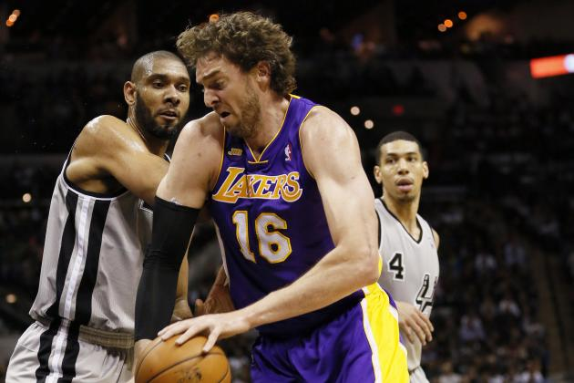 Spurs Beat Lakers 102-91