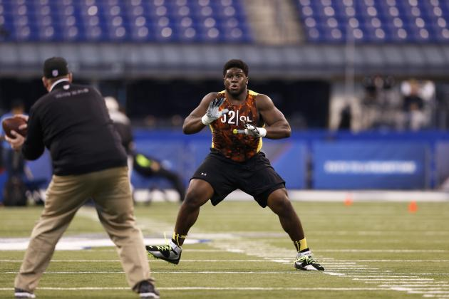 2013 NFL Draft: Guards Chance Warmack and Jonathan Cooper Will Fall Down Board