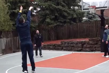 Michigan's Nik Stauskas new YouTube video: 70-for-76 on 3's in rain