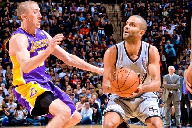 L.A. Lakers vs. San Antonio Spurs: Game 2 Score, Highlights and Analysis