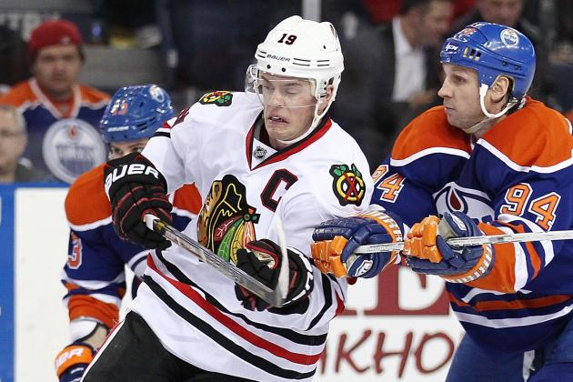 Hawks Clinch Presidents' Trophy vs. Oilers
