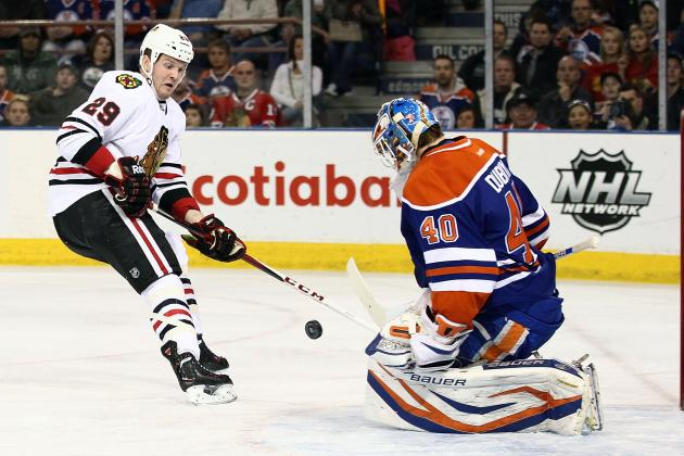 Blackhawks Defeat Edmonton 4-1 and Win Presidents' Trophy