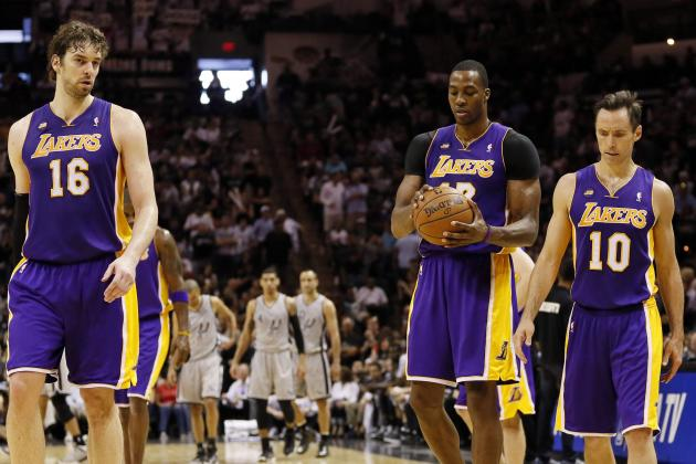 Spurs Making Lakers Playoff Exit Look Like Foregone Conclusion