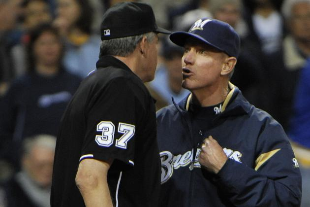 Ron Roenicke Said Umpire Blew Final Call