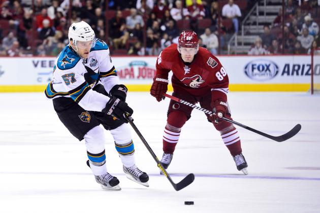 Kurz's Instant Replay: Coyotes 2, Sharks 1
