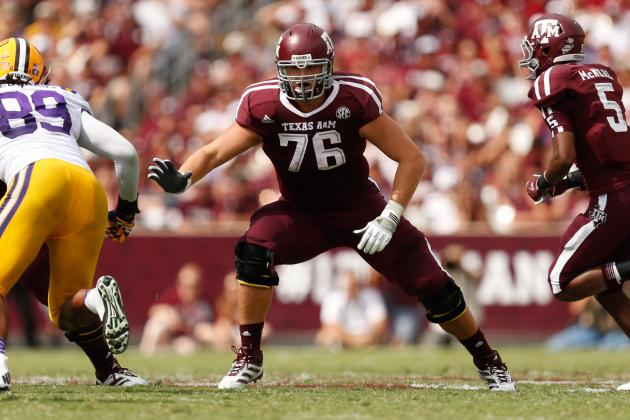 Luke Joeckel Will Be No. 1-Overall Selection of 2013 NFL Draft