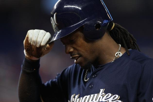 Brewers' Rickie Weeks Mired Again in Early Season Slump