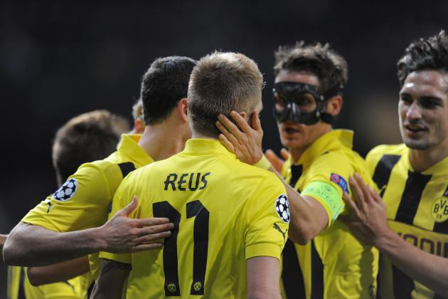 Marco Reus the Real Star in Dortmund's Champions League Destruction of Madrid