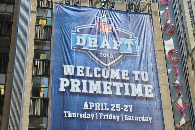NFL Draft TV Coverage 2013: Where and When to Watch All the Action