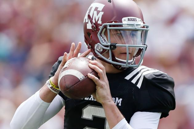 Texas A&M QB Johnny Manziel Opens Up on Offseason Under Spotlight