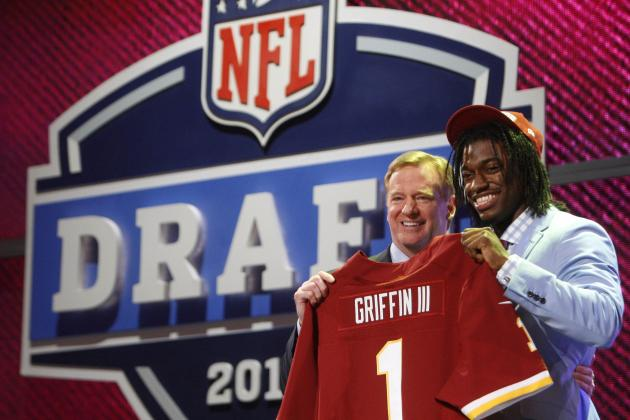 Washington Redskins: Chances of a 1st Round NFL Draft Pick 'One in a Million'