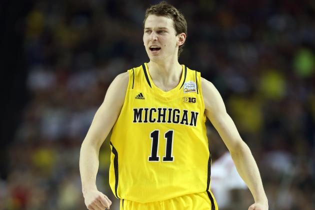 Michigan Guard Nik Stauskas Sinks 46 Straight Threes in the Rain