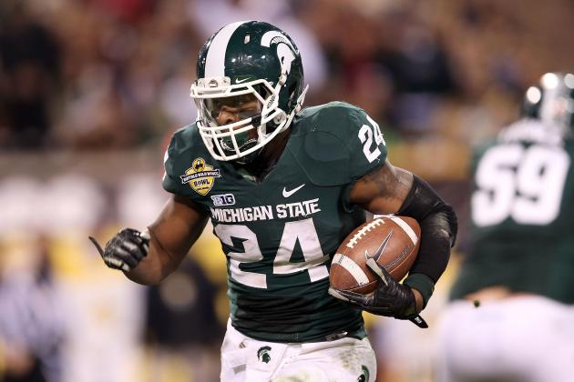Whoever Takes Michigan State's Le'Veon Bell Will Be 'Lucky Team'