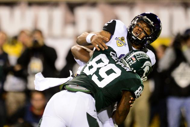 Lawrence Thomas, Shilique Calhoun Young Stars of MSU Defensive Line