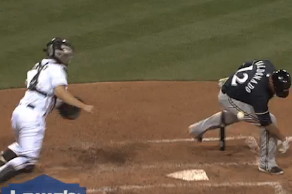 Watch: Controversial Call Ends Brewers 9-Game Win Streak