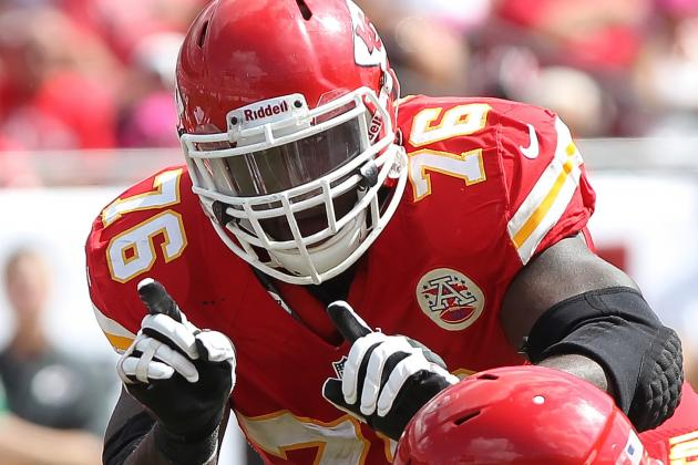 Branden Albert Still Subject of Chiefs, Dolphins Trade Talks