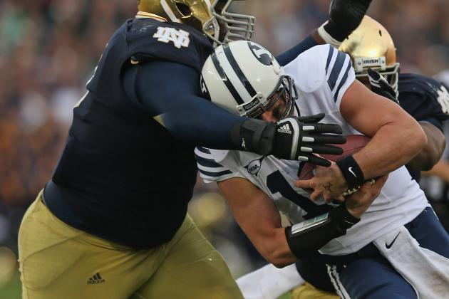 Cougars Get Prime Slot for 2013 Game at Notre Dame