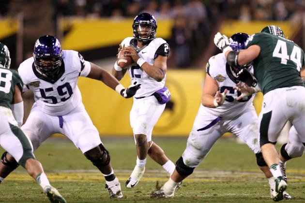 O-Line Could Determine If Horned Frogs Are Contenders in 2013