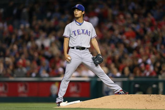 Watch the Ridiculous Movement on Darvish's Pitches