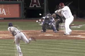 GIF Shows How Hard It Is Trying to Hit in MLB
