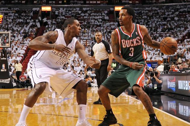 Brandon Jennings Still Says 'Bucks in Six' in Advance of Game 3 Against the Heat
