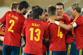 Spain Squad Announced May 27