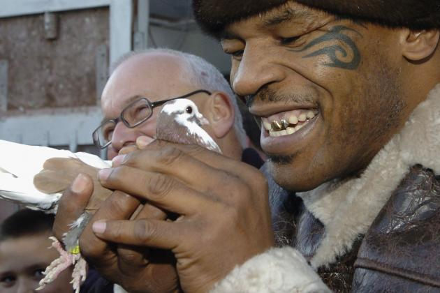 Mike Tyson: Ex-Girlfriend Cooked, Ate One of My Pigeons