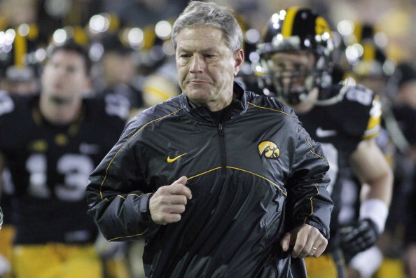 Defensive Line Is Ferentz's Second Talking Point This Spring