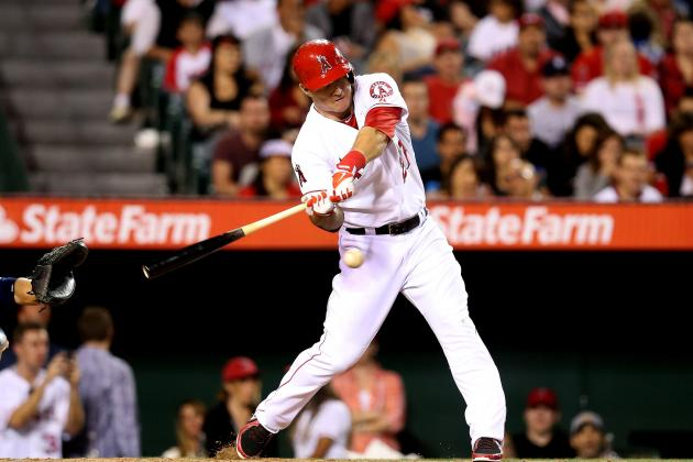 Trout Shares Hitting Tips