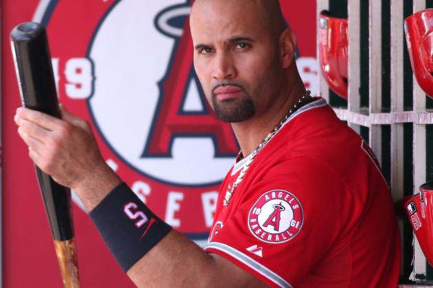 Pujols Says DH Is Best Option for Plantar Fasciitis