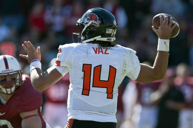 And Oregon State's Quarterback Is ...