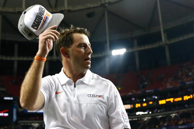 ACC Coach Rankings: Dabo Swinney Above the Rest