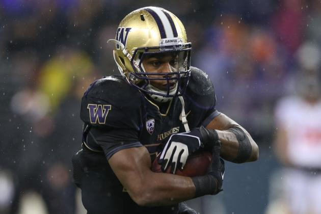 Ranking the Pac-12's Running Backs for 2013