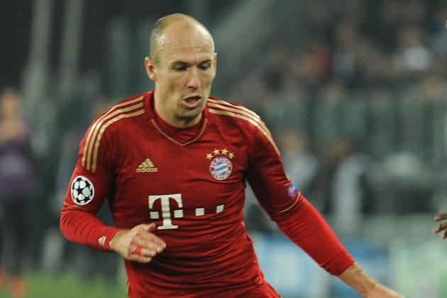 Juves Lines Up €18M Robben Bid