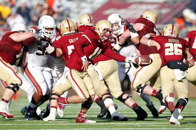 Offensive Line Builds BC's Foundation