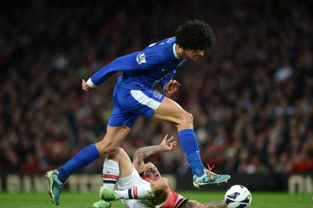 Everton Transfers: Toffees Should Sell Marouane Fellaini This Summer