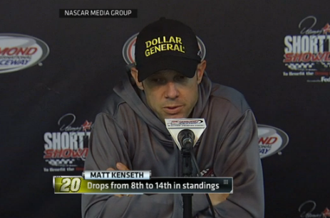 Kenseth Says Penalties Are 'Grossly Unfair'