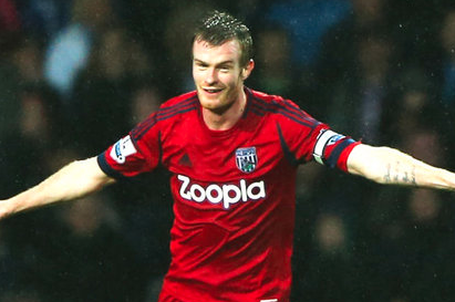 Chris Brunt to Miss West Broms Meeting with Southampton